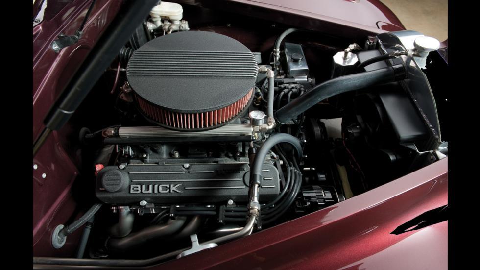 Buick Blackhawk Concept - motor