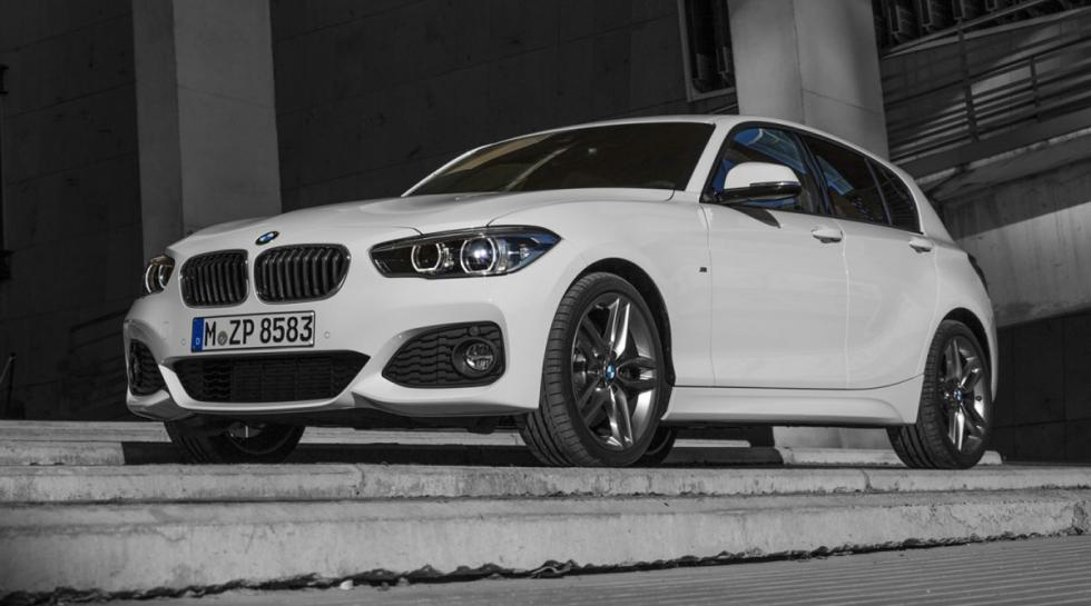 BMW 116d  delantera serie 1