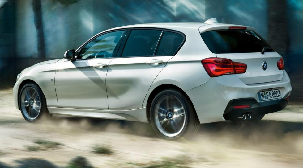 BMW 116d  trasera serie 1