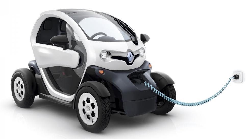 Renault Twizy delantera