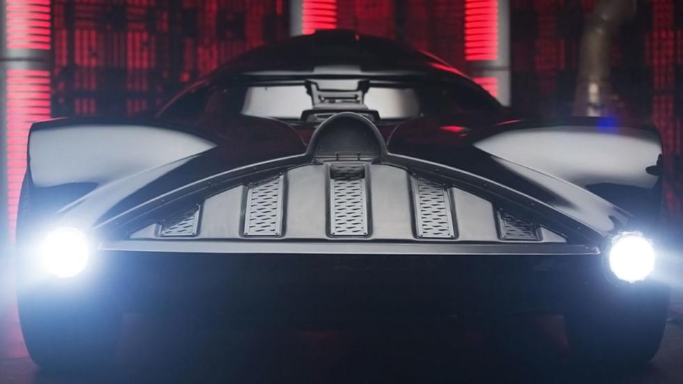 El Corvette de Darth Vader detalle parrilla