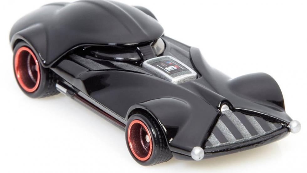 El Corvette de Darth Vader detalle 1:64 Hot Wheels
