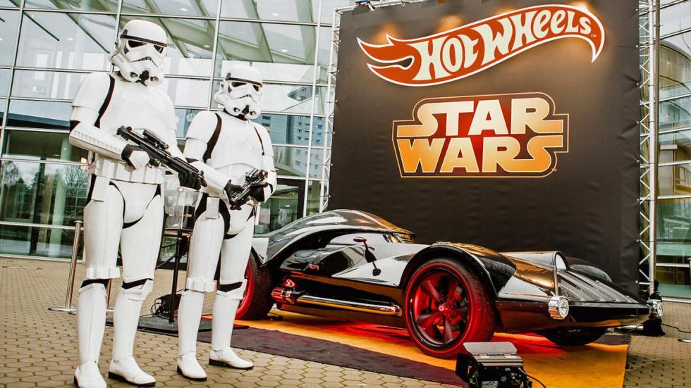 El Corvette de Darth Vader