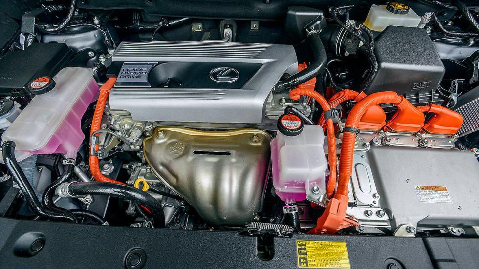 Lexus NX 300h interior motor