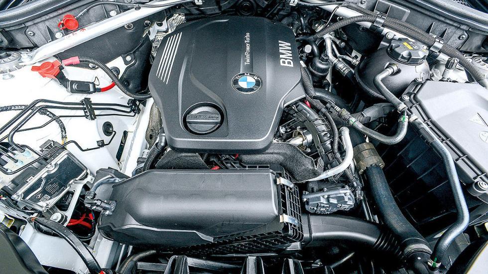 BMW X4 20d interior motor