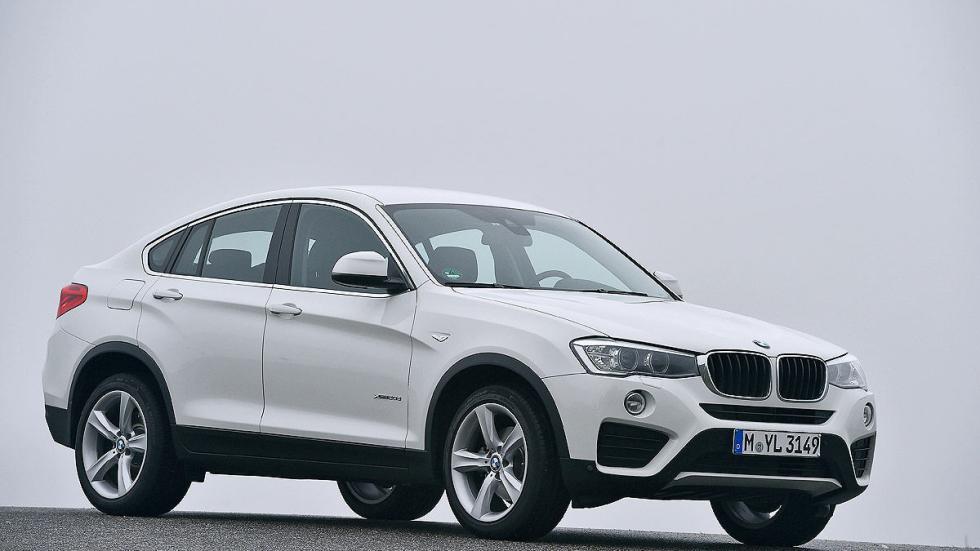 BMW X4 20d tres cuartos