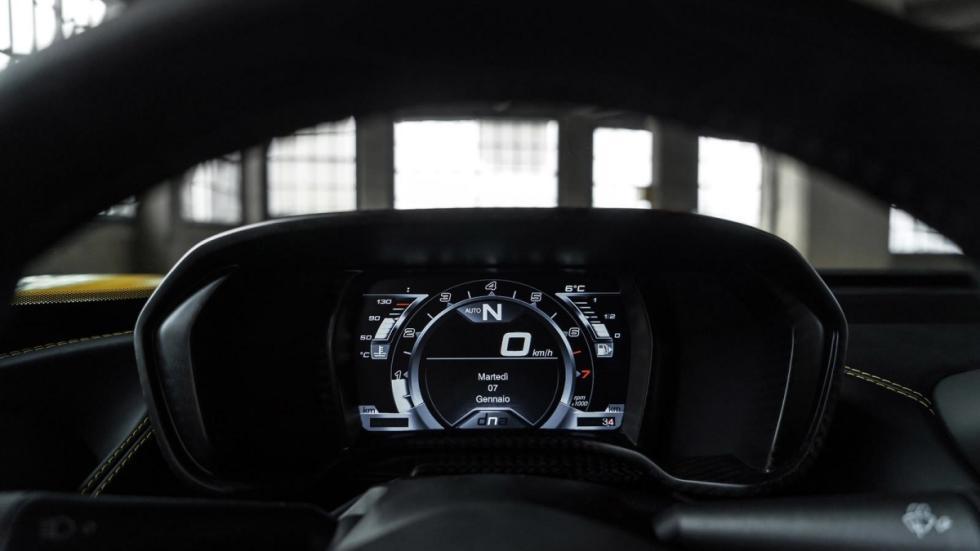 Alfa Romeo 4C Spider cuadro de mandos