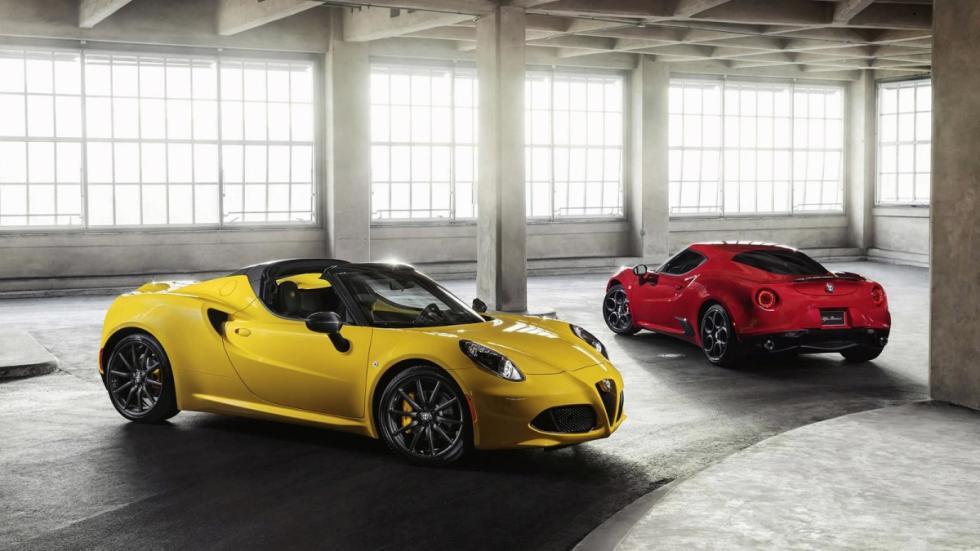 Alfa Romeo 4C Spider y Alfa Romeo 4C