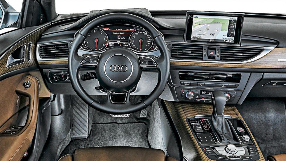 A6 3.0 TDI quattro interior