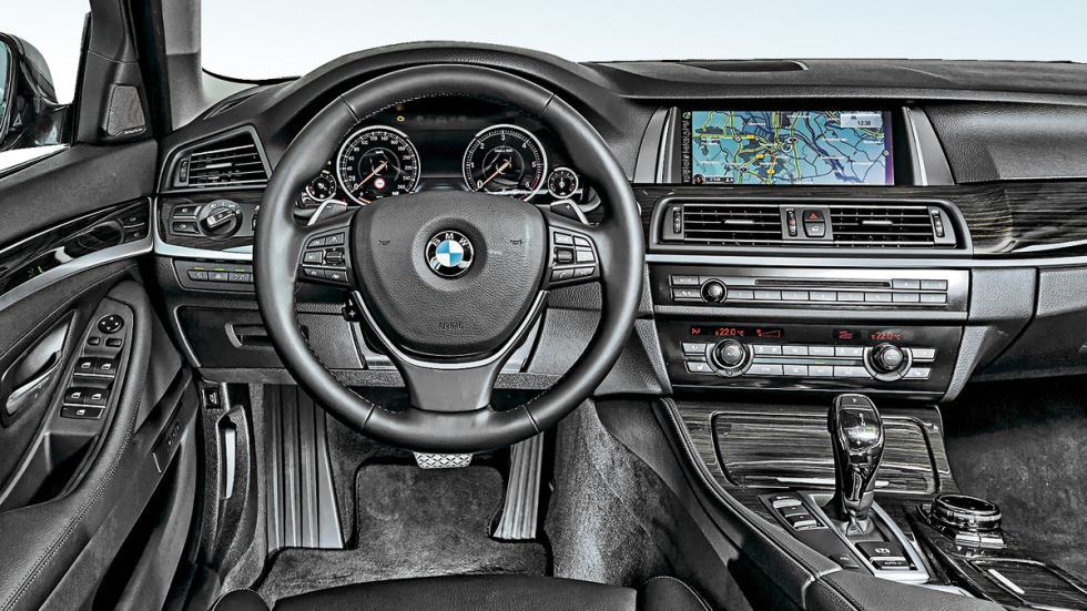 BMW 530d interior