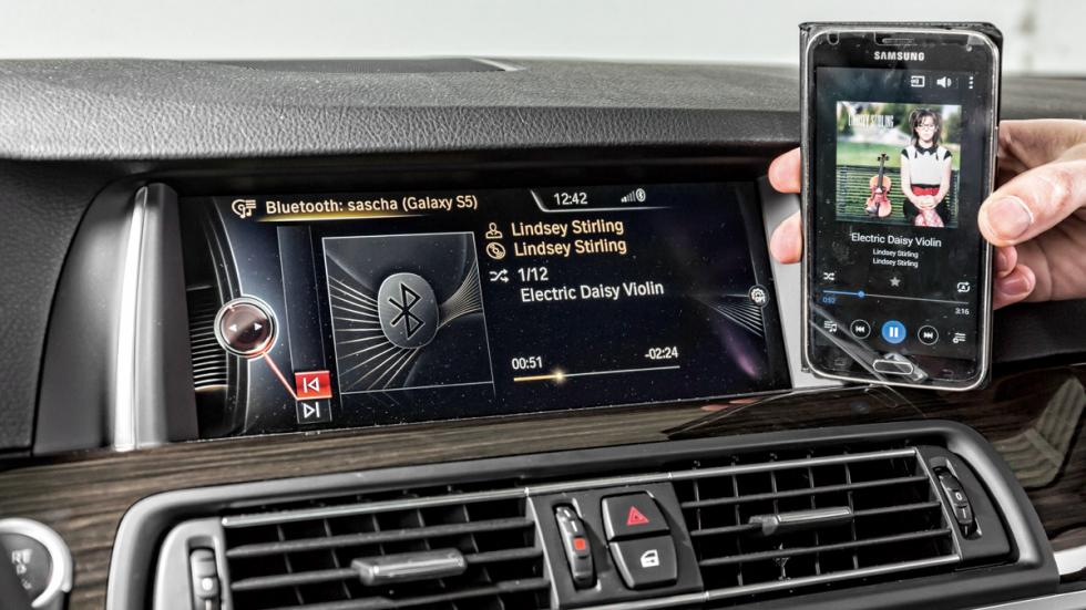 BMW 530d conectividad