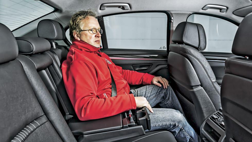 BMW 530d asientos