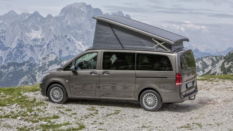 coches para dormir dentro Mercedes Viano Marco Polo
