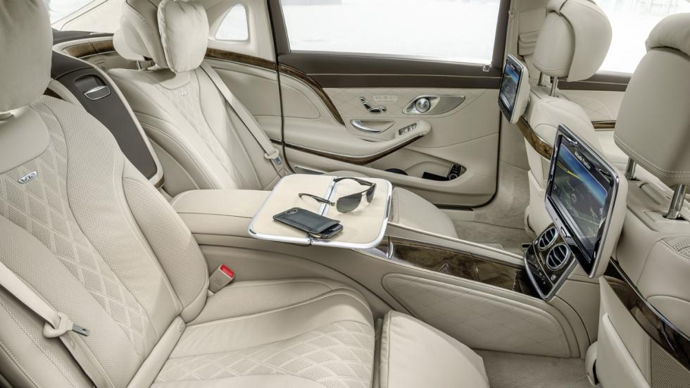 coches para dormir dentro Mercedes-Maybach S600