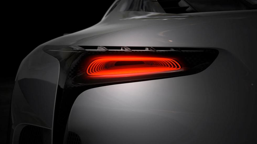 Lexus LF-LC Vision Gran Turismo zaga