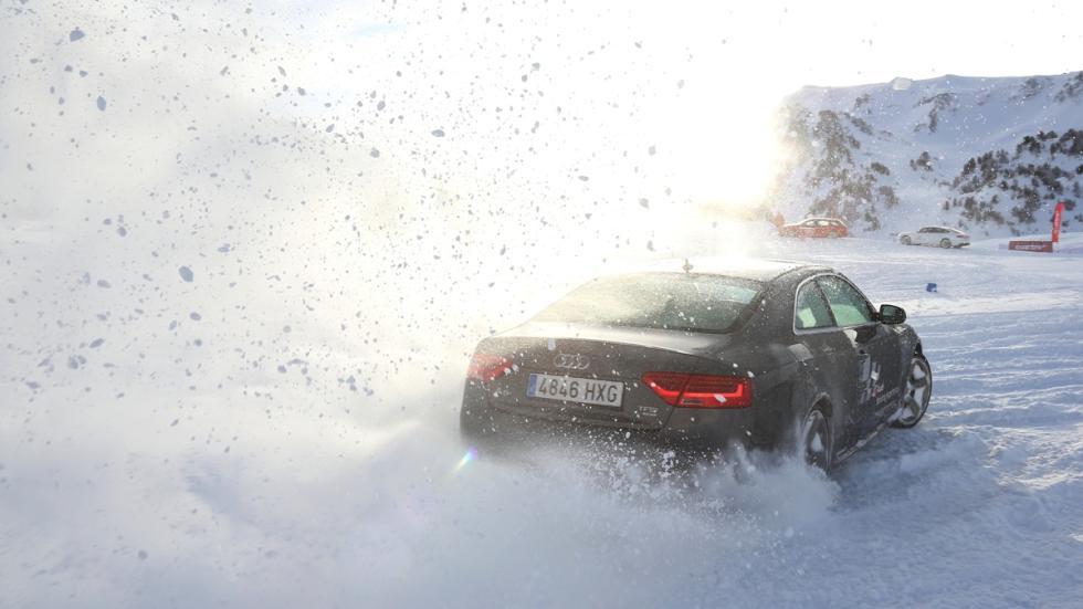 Vivimos la Audi Driving Experience Baqueira 2015 prueba Audi A5