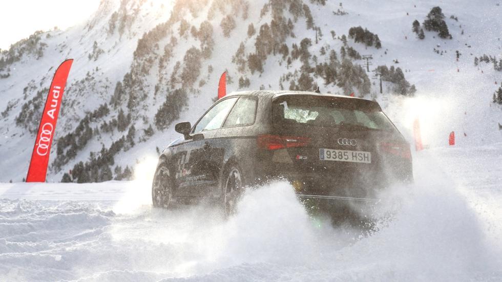 Vivimos la Audi Driving Experience Baqueira 2015 prueba Audi S3
