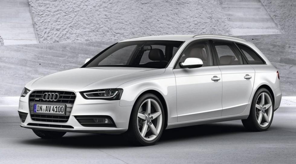 Audi A4 2.0 TFSI flexible fuel delantera avant