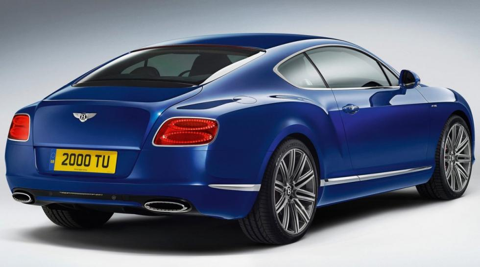 Bentley Continental GT speed trasera
