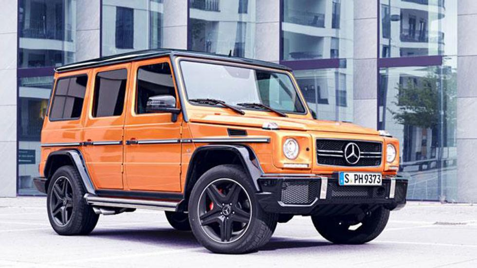 Mercedes Clase G Crazy Color Edition naranja