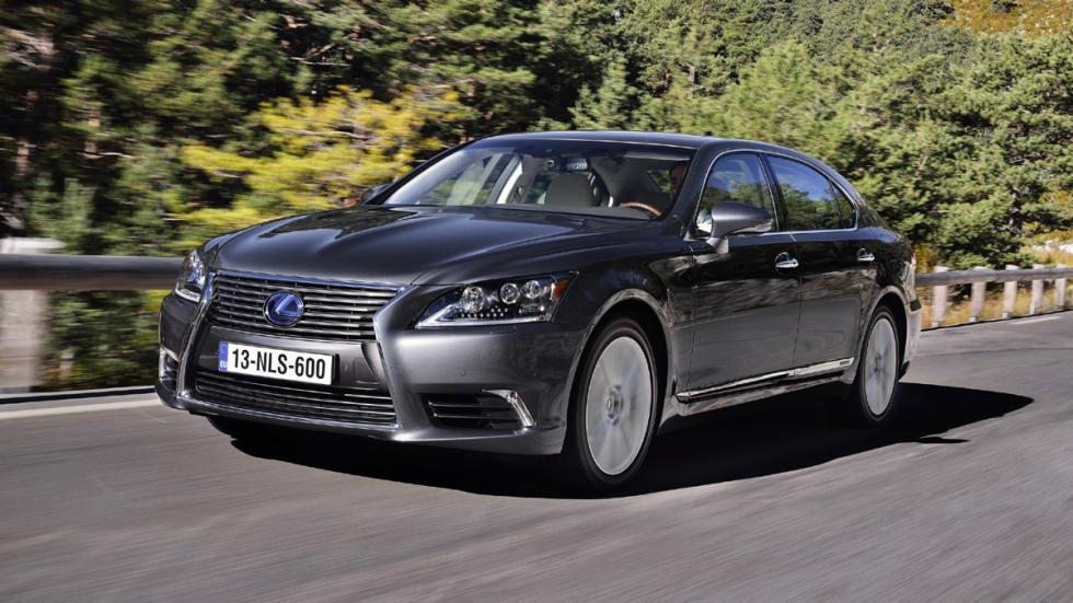 coches para bodas Lexus LS600h