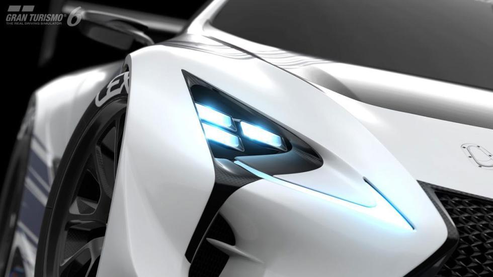 Lexus LF-LC Vision Gran Turismo faro