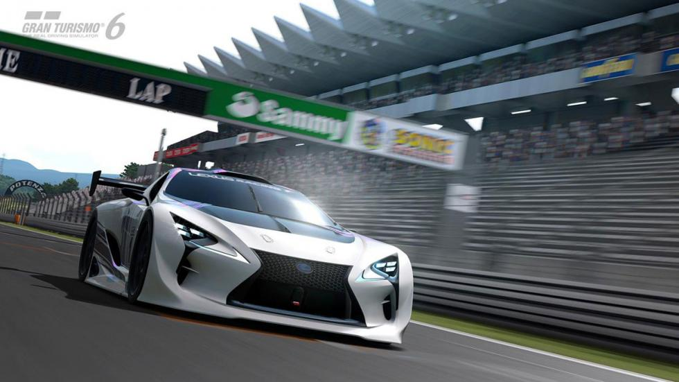 Lexus LF-LC Vision Gran Turismo circuito