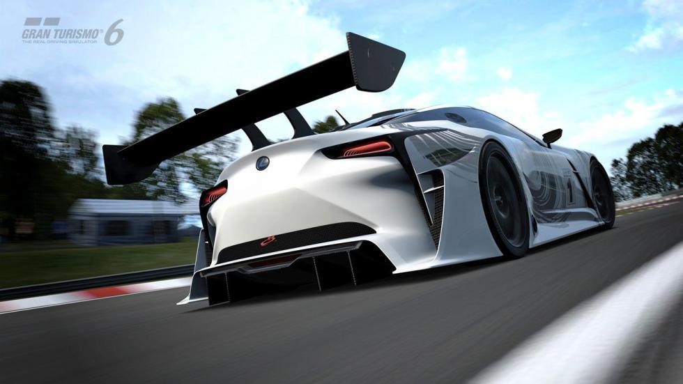 Lexus LF-LC Vision Gran Turismo trasera
