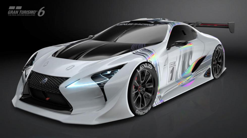 Lexus LF-LC Vision Gran Turismo