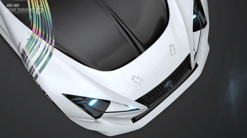 Lexus LF-LC Vision Gran Turismo morro