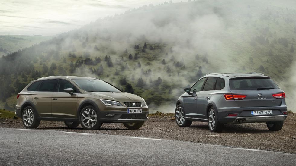 coches para montaña Seat León X-Perience