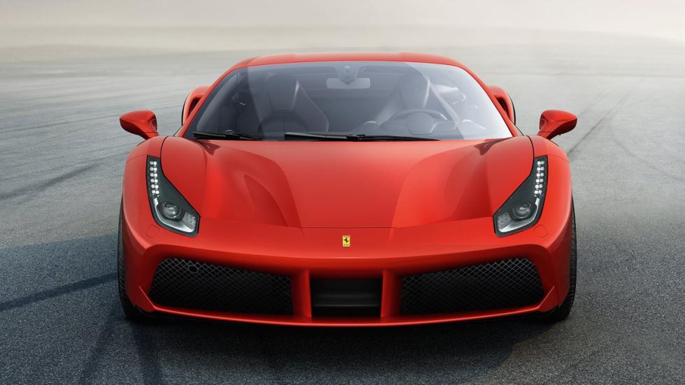 Ferrari 488 GTB frontal 2