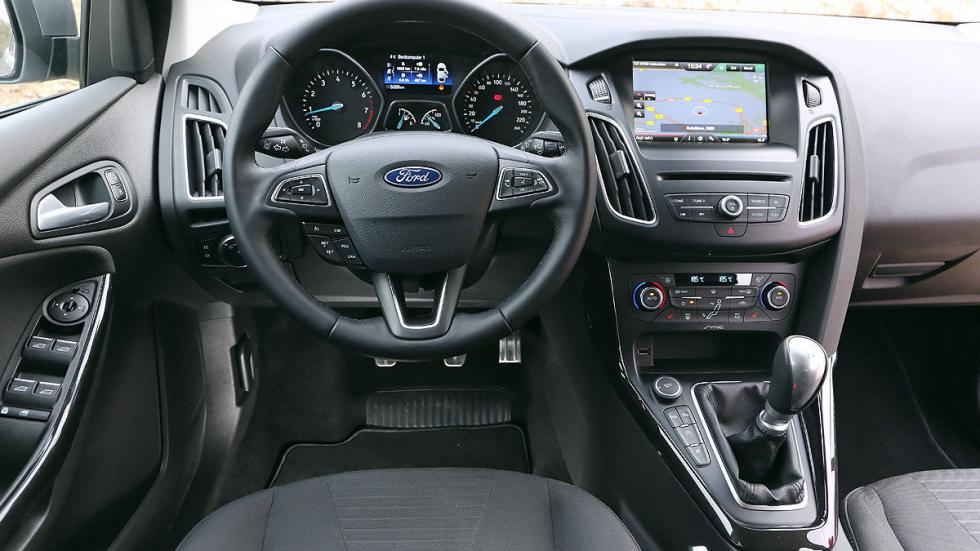 Ford Focus Turnier interior