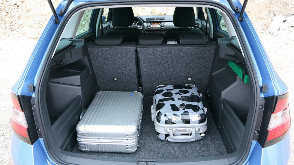 Skoda Fabia Combi asientos interior maletero