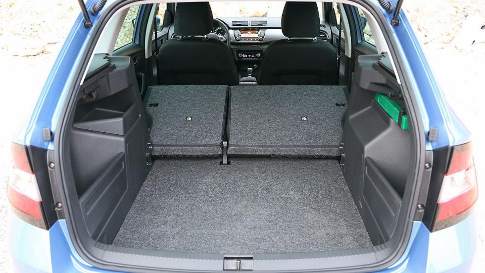 Skoda Fabia Combi asientos interior maletero máximo
