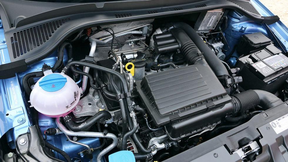 Skoda Fabia Combi asientos interior motor