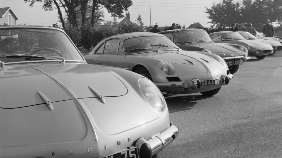 Renault Alpine A110 en 1962