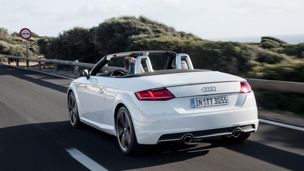 Audi TT Roadster trasera