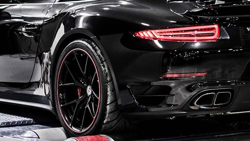 Porsche 911 de PP Performance detalle faro
