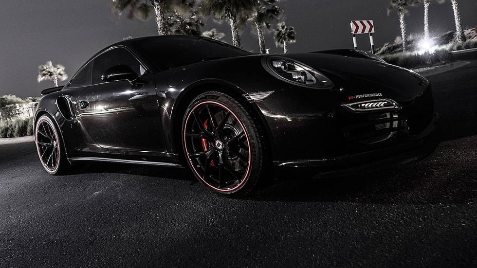 Porsche 911 de PP Performance detalle llanta