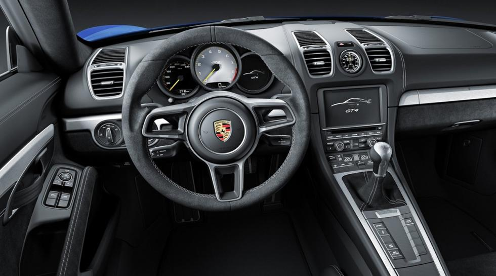 Porsche Cayman GT4, interior