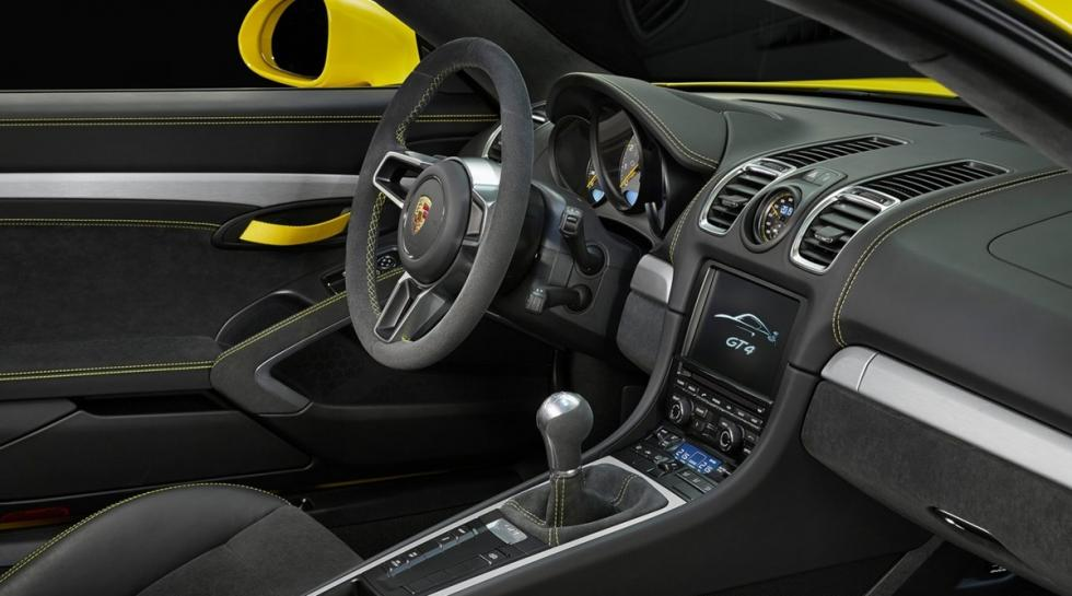 Porsche Cayman GT4, interior 2