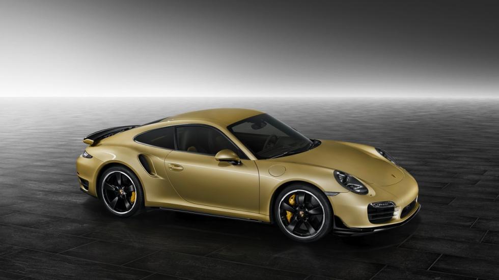 Kit aerodinámico del Porsche 911 Turbo lateral