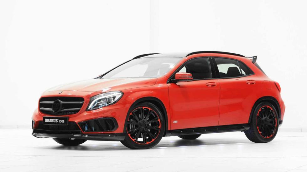 Mercedes GLA 220 CDI por Brabus