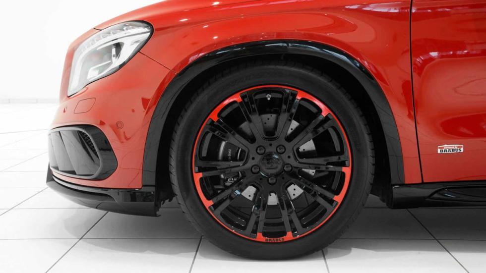 Mercedes GLA 220 CDI por Brabus llantas