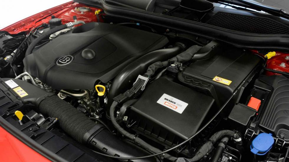 Mercedes GLA 220 CDI por Brabus motor