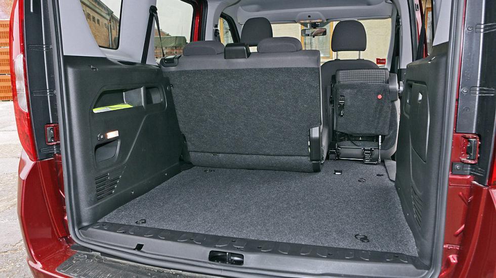 Fiat Dobló 2015 maletero un asiento