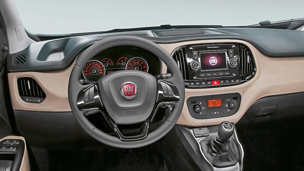 Fiat Dobló 2015 salpicadero
