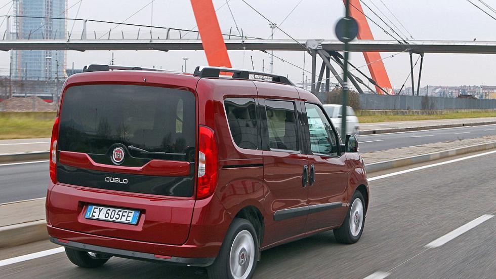 Fiat Dobló 2015 tres cuartos zaga