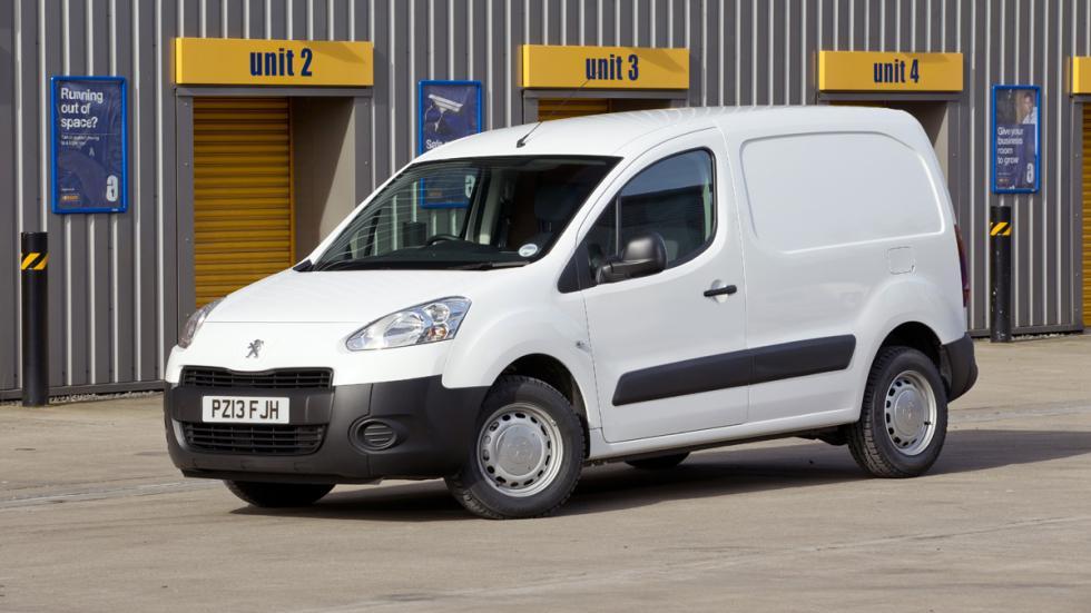 coches menos estrellas euroncap Peugeot Partner